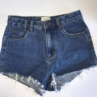Insight Denim Blue Shorts