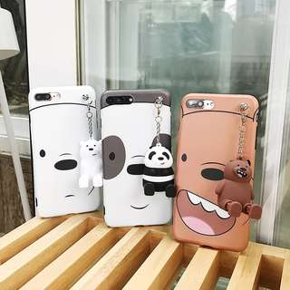 PO WE BARE BEAR (Ver 3) iPhone Casing