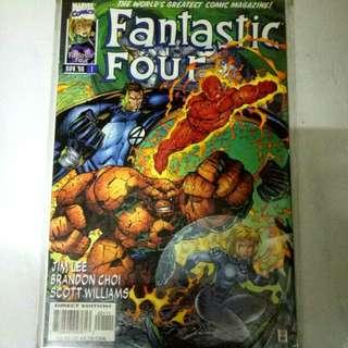 MARVEL COMICS FANTASTIC FOUR #1