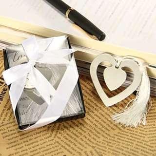 Heart-Shaped Bookmark