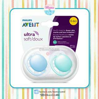 ‼️NEW‼️AVENT Ultra Soft Pacifier (0-6m) BLUE/TEAL