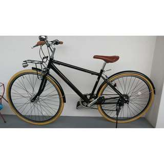 Brand new Japan hybrid bike bicycle with Shimano gears