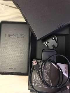 ASUS nexus 7 機 99.99999%new