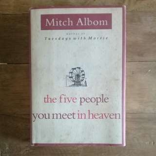 The 5 People You Meet in Heaven by Mitch Albom