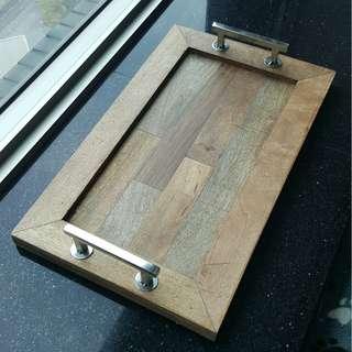 木製西式麵包托盤