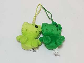 Brand New Pair of Hello Kitty Hanging Plush Toy