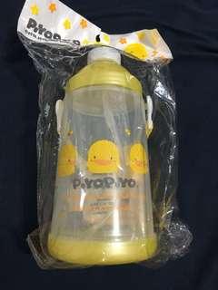 Piyo piyo黃色小鴨彈開式水壺