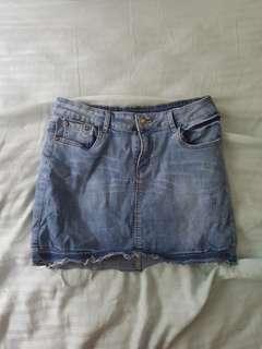 Country Denim skirt