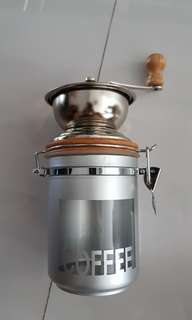 Coffee grinder burr grinder - manual