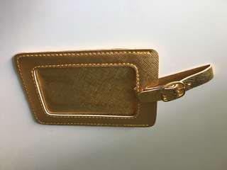 Gold Bag Tag