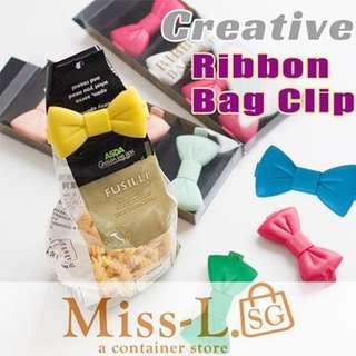 🍄 RIBBON BAG CLIP 5 PCS