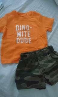 Carter's Shirt & Shorts Set (9 months)