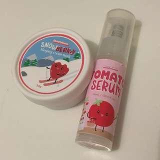 Snowberry Cream & Tomato Serum