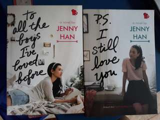 Jenny han PS I Still Love you and To All The Boys I've Loved Before
