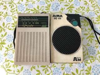 舊款收音機(已壞)