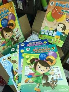 Lot of Children Activity Books