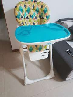 Baby high chair Joie Mimzy adjustable