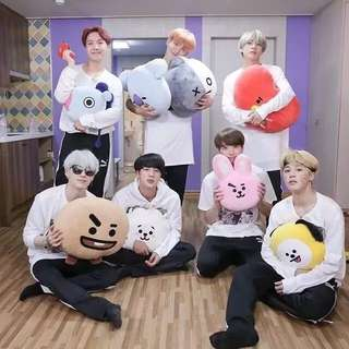 RM12🎉BTS bt21 Plushie/phone case/mask