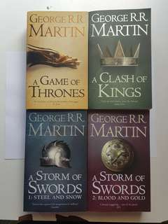 Game Of Thrones Set 1-4