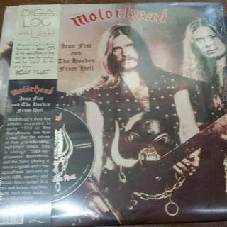 Motörhead ‎– Iron Fist And The Hordes From Hell - Vinyl Record LP - With Free CD