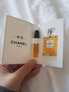 Chanel No 5 Perfume Sample