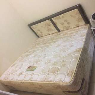 Re-PRICE! Jual murah spring bed set Uniland 160x200cm