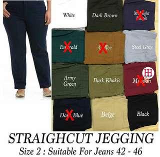 Straightcut Jegging Size 2
