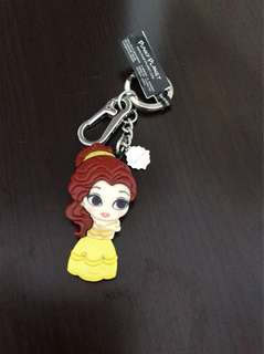 Brand new Disney Belle Keychain Beauty and the Beast