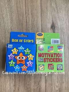 (New!) Student Motivational Reward Stickers for teachers