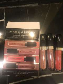 Marc jacobs lipglosses