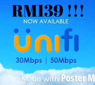 Unifi fast internet register promo 30mbps