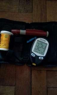 Blood sugar test kit