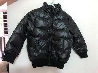 Down winter jacket size 120