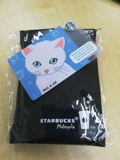 Starbucks 🇱🇷 Paul & Joe card and card caddy