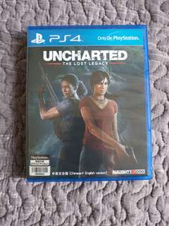 PS4 Uncharted Lost Legacy 中英文版
