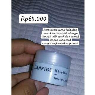 Laniege white dew tone up cream (trial size)