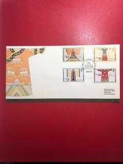 香港郵票-中國古代服飾郵票首日封