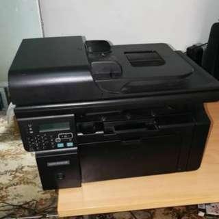 LaserJet Printer M1212nf MFP
