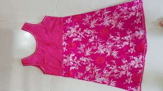 Clearance - $15 CNY Girl's Dress Set (Good Quality, Size 12) - Almost New