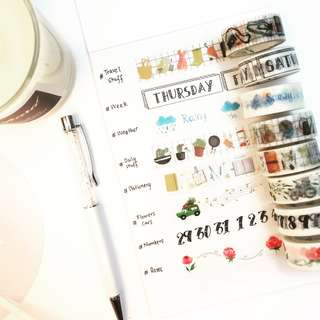 [Ready Stock] Washi Tape