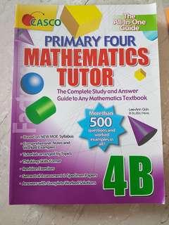 Maths Assessment Books P4 maths tutor 4B