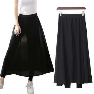 🎆超瘦款🤗網紗假2件內搭褲裙❤