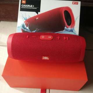 Charge 3 jbl red color