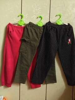 童褲合售~120公分