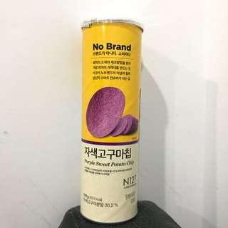 No Brand 紫薯洋芋片  110g