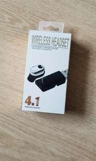 One Single Bluetooth Wireless Headset 單邊藍牙無線耳機