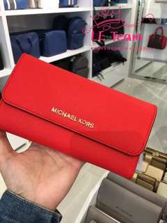 (Pre-order)US Michael Kors Long Wallet,Special Price,Est.indent 4-6 Weeks Can Collect It Upon Confirmation Order,Direct Courier From US. BEST PRICE OFFER (NON NEGOTIABLE)
