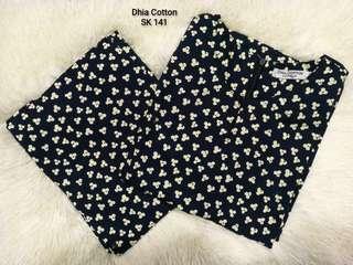 Kurung Cotton Dhia