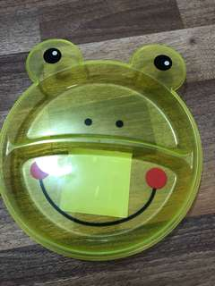 Plastic Frog plate BPA Free