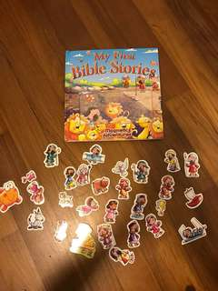 Bible Stories ( magnetic book)